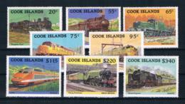 Cookinseln 1985 Eisenbahn Mi.Nr. 1047/54 Kpl. Satz ** - Cookinseln