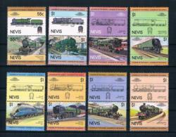 Nevis 1983 Eisenbahn Mi.Nr. 115/30 Kpl. Satz ** - St.Kitts-et-Nevis ( 1983-...)