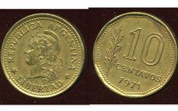 ARGENTINE 10 Centavos 1971 - Argentine