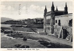 PALERMO - VILLA FLORIO.......- VIAGGIATA - Palermo