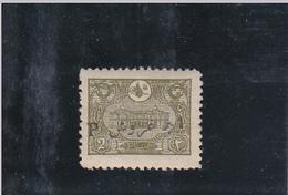 TIMBRE DE TURQUIE SURCHARGé / NEUF ** / 1 PI SUR 2 PA. OLIVE ( 160 ) / N° 10 YVERT ET TELLIER /1913 - Thrace