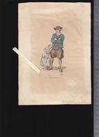 Escoublac 44 - Lithographie Originale  XIXè - Emile Rogaert - Voir état - Vieux Papiers