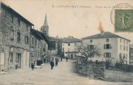 CPA - France - (69) Rhône - Saint-Just-d'Avray - Place De La Croix-de-fer - Otros Municipios