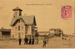 34 - SÉRIGNAN - LA PLAGE - LES VILLAS - Frankreich