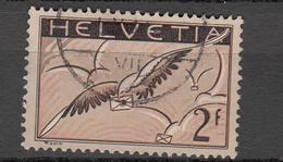 PA  1933/37  N°13z  OBLITERE  COTE 20.00 FRS. VENDU A 15% 3.00   FRS.  CATALOGUE ZUMSTEIN - Luftpost