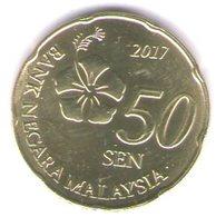 Malesia-malaysia 50 Sen 2017 - Malesia