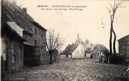 Thématiques 2018 Commémoration Fin De Guerre 1914 1918 Saint Julien Langemark Het Dork Le Village - Guerre 1914-18