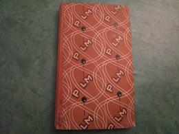 AGENDA PLM 1930 Thème L'Afrique Du Nord + Pochette De 12 Cartes Postales (304 Pages Dont 16 Planches En Couleur) - Chemin De Fer