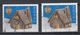 NOORWEGEN - Michel - 2001 - Nr 1412 Do/Du - Gest/Obl/Us - Norvège