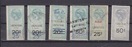 AOF LOT 6 FISCAUX REVENUES USED - A.O.F. (1934-1959)