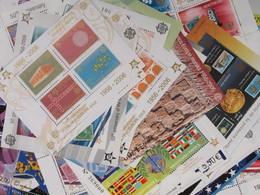 CEPT 50 Jahre Blöcke Und Kleinbögen Michel Katalogwert 776,00 € Postfrisch MNH (2768) - Europa-CEPT