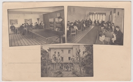 D162203 Hungary  Hévíz Gyógyfürdő  SPA - Bányászüdülő  - Miners Holiday Home  Table Tennis - Playing Chess - Hongrie