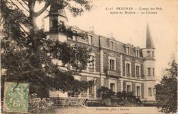 34 - PÉZENAS - GRANGE DES PRÉS - SÉJOUR DE MOLIÈRE - LE CHÂTEAU - Pezenas