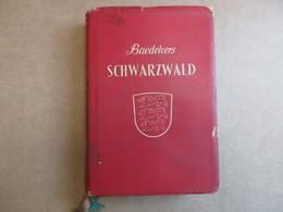 Schwarzwald  / Odenwald - Neckartal (Karl Baedeker) éditions De 1956 - Guides Touristiques