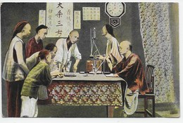 Chinese Fantan Game  - Sternberg - China (Hong Kong)