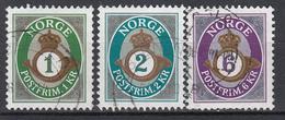 NOORWEGEN - Michel - 2001 - Nr 1380/82 - Gest/Obl/Us - Norvège