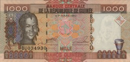 GUINEE 1000 FRANCS GUINEENS De 2006  PICK 40  UNC/NEUF - Guinée