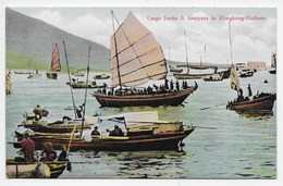 Chinese Junks And Sampans In Hongkong-Harbour  - Sternberg - China (Hong Kong)