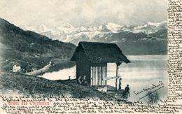 SWITZERLAND - Gross Aus Oberhofen  VG Postmarks And Undivided Rear 1905 - BE Berne