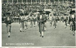 SPAIN - Bullfighting RPPC - Bullfighters Entering The Ring - Cartes Postales