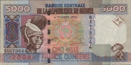 GUINEE 5000 FRANCS GUINEENS De 2006  PICK 41  UNC/NEUF - Guinée