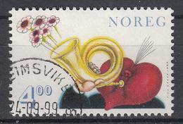 NOORWEGEN - Michel - 1999 - Nr 1306 - Gest/Obl/Us - Norvège