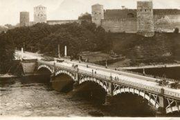 ESTONIA  (Russia)- Tallinn Narva Puusild Je Jaaril Etc - VG Postmarks And Stamps Including UK 1929 - Estonie