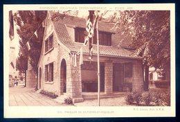 Cpa De 1931 Exposition Coloniale Internationale Paris -- Pavillon De St Pierre Et Miquelon   YN33 - Saint-Pierre-et-Miquelon