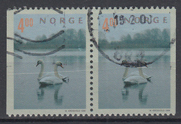 NOORWEGEN - Michel - 1999 - Nr 1307 DI/Dr (Paar) - Gest/Obl/Us - Norvège