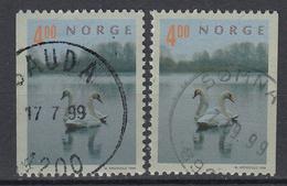 NOORWEGEN - Michel - 1999 - Nr 1307 DI/Dr - Gest/Obl/Us - Norvège