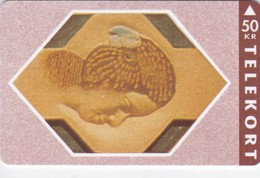 Denmark, TS 006K, Relief Series - Nr 11 Of 16, Mint 50 Kr, Only 2.500 Issued. - Dänemark