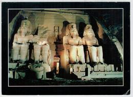 SANT  MONEKA     ABU  SIMBEL       2 SCAN       (VIAGGIATA) - Abu Simbel