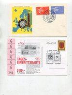 Belegeposten / 20 Belege (1/053-80) - Briefmarken
