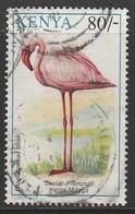 Kenya 1993 Birds 80 Sh Multicoloured SW 595 O Used - Kenya (1963-...)