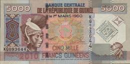 GUINEE 5000 FRANCS GUINEENS De 1-03-2010 PICK ? UNC/NEUF - Guinée