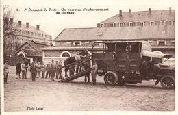 Thématiques 2018 Commémoration Fin De Guerre 1914 1918 4 Eme Compagnie Du Train Embarquement De Chevaux - War 1914-18