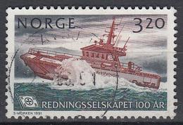 NOORWEGEN - Michel -  1991 - Nr 1066 - Gest/Obl/Us - Norvège
