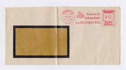 Umschlag AFS - BERLIN, Nachweis Für Siedlungs-Bauten Joh. Kasper & Co. 1938 - Deutschland