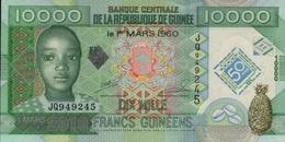 GUINEE 10000 FRANCS GUINEENS De 1-03-2010 PICK ? UNC/NEUF - Guinea