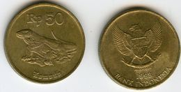 Indonesie Indonesia 50 Rupiah 1993 KM 52 - Indonésie