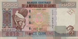 GUINEE 5000 FRANCS GUINEENS De 2012 PICK ? UNC/NEUF - Guinée