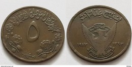 SUDAN - 5 Millim - KM 53 - FAO - 1973 - Soudan