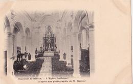 Ninove. L' Eglise Intérieur. - Ninove
