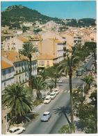 Hyeres Les Palmiers: CITROËN DS, RENAULT 4-COMBI, PEUGEOT 404 BREAK, 204 - Avenue Gambetta - Toerisme