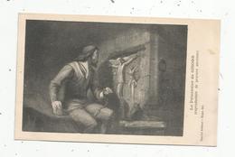 Cp, Arts , Peintures & Tableaux , Gravure Ancienne : Le Prisonnier De GISORS ,vierge - Malerei & Gemälde