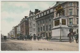 Ireland - Eire Dublin Dame St. Tramway Attelages - Dublin