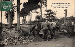 Thématiques 2018 Commémoration Fin De Guerre 1914 1918 Prisonniers Allemands à La Réfection Des Routes - Guerre 1914-18