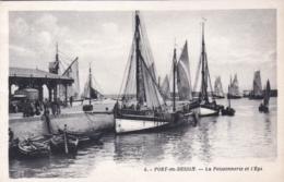 14 - Calvados -  PORT En BESSIN - La Poissonnerie Et L Epi - Port-en-Bessin-Huppain