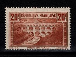 Pont Du Gard YV 262 Type IIB- N** Cote 550 Euros - France