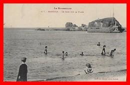 CPA (66) BANYULS.  Le Bain Sur La Plage, Animé...I0094 - Banyuls Sur Mer